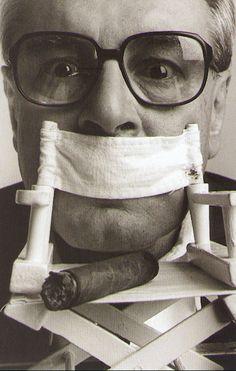 Milos Forman by Abe Frajndlich (1997).