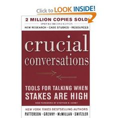 $ 20.20 Crucial Conversations (Turtleback School & Library Binding Edition) - Used in the Crucial Conversations class
