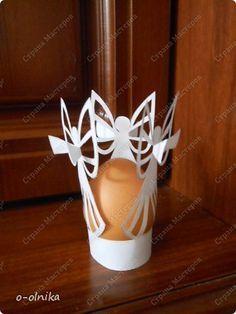 Вырезание силуэтное - ТРИ АНГЕЛА вырезалка для пасхального яйца