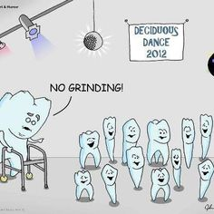 I love that the molar has a walker!  Are you looking for a dental assisting study guide? www.DentalAssistantStudy.com