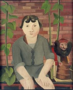 Le Diable (1944) by Colette Beleys (1911-1998), French (laval)