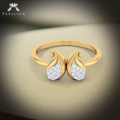 A majestic #ring will serve as a window to her heart.... #diamondring #goldring #diamondjewelry #dailywearring #shopping