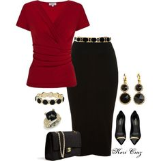 """""""Classy Office Outfit"""" by keri-cruz on Polyvore"""