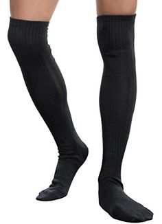 Long Stockings Men Socks Sports Football Socks Over the Knee Socks * Want to know more, click on the image.Note:It is affiliate link to Amazon.