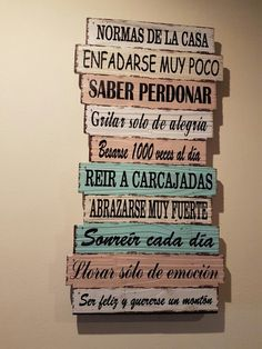 Home Letras De Madera Pared Ideas D House, My Room, Ideas Para, 31 Ideas, Diy And Crafts, Sweet Home, New Homes, Room Decor, Lettering