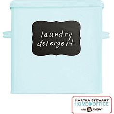 Martha Stewart Home Office™ with Avery™ Chalkboard Labels,  Flourish, 3-3/4in. x 5-3/16in., 6/Pack