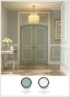 Paint schemes for plantation-style and French Colonial homes in the South. | @BEHR colorfullybehr.com