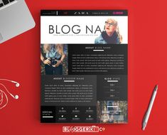 """One-Page Media Kit Template   Press Kit Template   Electronic Press Kit   Instant Digital Download (MS Word)   The """"Dreamer"""""""