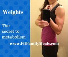 """http://fitfamilymeals.blogspot.com/2010/01/dont-neglect-weight-trainig.html Weight Training the Secret to Boasting Metabolism Time and time again I work with women that have plateaued in their fitness. After an initial assessment, most of the time I find that women in general neglect weight training because they are afraid of bulking or want to spend all their exercise time """"burning fat"""".   Strength training is one of the few actual scientifically proven ways to increase the body's…"""