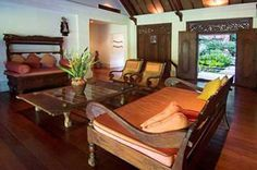 The Indonesian furniture is fabulous!