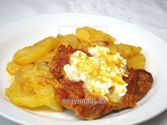 Cottage Cheese, Baked Potato, Potatoes, Baking, Ethnic Recipes, Anna, Red Peppers, Patisserie, Potato