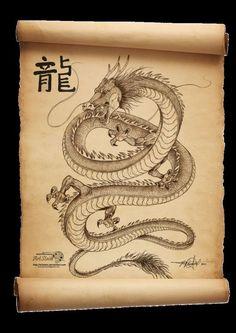 Dragon Scroll by artstain on DeviantArt