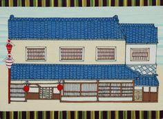 Kintaro Ishikawa, an Old House in Kawagoe ( 1 ) on ArtStack #kintaro-ishikawa #art