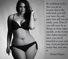 be confident beautiful