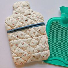 Stitch a cosy hot water bottle cover for chilly winter eves ... : quilted hot water bottle cover - Adamdwight.com