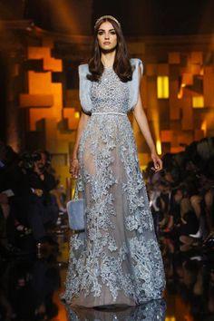 أزياء إيلي صعب هوت كوتور خريف شتاء 2015