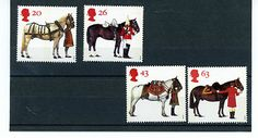 GREAT BRITAIN STAMP MINT NH QE 11 1997 BRITISH HORSE SOCIETY 50th ANNIV