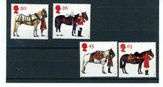 GREAT BRITAIN STAMP MINT NH QE 11 1997 BRITISH HORSE SOCIETY 50th ANNIV