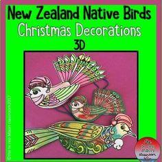 Rauemi (Resources) - Page 6 of 13 - The Te Reo Māori Classroom Christmas Art For Kids, Summer Christmas, Christmas Cards To Make, Christmas Paper, Xmas Cards, Christmas Ideas, Christmas Stuff, Christmas Tree, Tribal Tattoo Designs