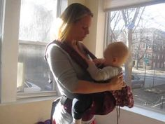 10+ Tips for Breastfeeding in A Baby Carrier - Living with Low Milk Supply