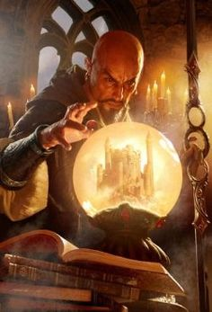 Mordenkainen is a wizard from the World of Greyhawk, and is therefore one of the oldest characters