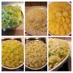Patate al forno con verza e asiago | Fables de Sucre Salads, Potatoes, Vegetarian, Kitchen, Dinner, Salad, Potato, Lettuce