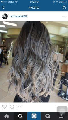 Blonde balayage silver, ash blonde hair silver, grey ash blonde, silver h. Ash Blonde Hair Balayage, Cabelo Ombre Hair, Balayage Hair Grey, Blonde Highlights, Silver Highlights, Grey Ash Blonde, Pelo Color Gris, Ombre Hair Color, Hair Colors