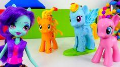 Развивающие видео и игры для девочек: Игра пони Май Литл (my little pony...