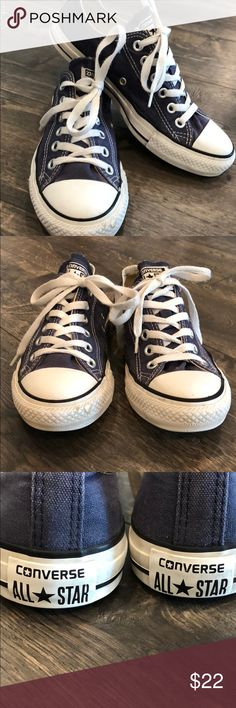 Converse All Star ⭐️. Men's size 5.  Blue Converse All Star ⭐️ chucks. Men's size 5/women's 7. Faded Blue. I've worn them about 20 Times & I've had them for 5 yrs.... . Converse Shoes Sneakers