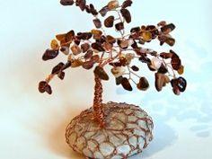 Stromeček štěstí s jaspisem Origami, Place Cards, Place Card Holders, Origami Paper, Origami Art