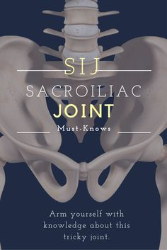 What is SI joint pain? SI joint pain can be daunting, at least partially because of the anatomy. Self-diagnose to see if your pain is coming from your SI joint. Learn the functions of this joint, the different types & ligaments. Sacroiliac Joint Dysfunction, Hypermobility, Si Joint Pain, Hip Pain, Fitness Workouts, Le Mal A Dit, Psoas Release, Arthritis Treatment, Medical