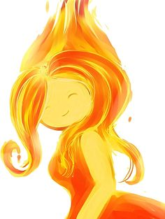 Flame princess :) one of my favorite princesses on A.T.  At school we all gave each other Adventure Time names.  I was Flame Princess :D
