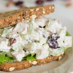 Fall Chicken Salad with Apples, Cranberries & Pecans | Food Recipes, Dinner Ideas, Healthy Recipe Tips | Bloglovin'