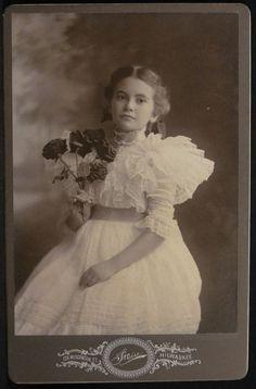 Marguerite Zohslaut, Milwaukee Wisconsin, 1897