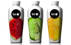 Fresh Fruity Branding  Be O' Juice Packaging Presents a Pure Image of its Organic Ingredients