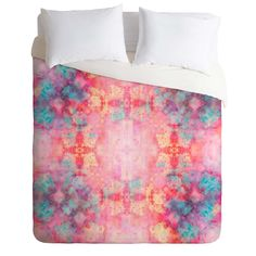 Caleb Troy Candy Outburst Duvet Cover | DENY Designs Home Accessories