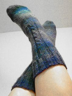I LOVE sock knitting!  I can't wait to really get into sock pattern design!