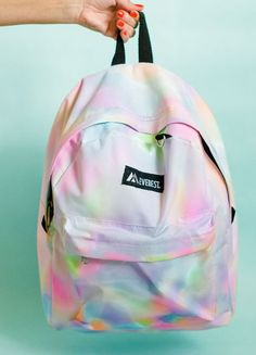 Faça esta linda personalização de mochila