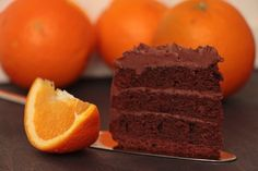 Hüftgold deluxe: Schokoladen-Orangen-Torte