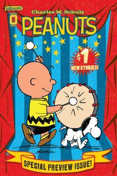 Peanuts magazine.