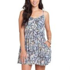 Juniors Billabong Black Luv Confession Dress
