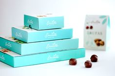 Emilita Packaging by Estudio Indice Design Awards, Design Trends, Design Ideas, Chocolates, Creative Design, My Design, Watermark Design, Candy Brands, Branding