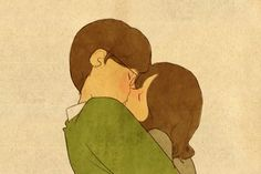 love cartoon How I imagine that day will be. Love Cartoon Couple, Cute Couple Comics, Cute Couple Art, Cute Love Cartoons, Cute Love Images, Cute Love Gif, Cute Couple Drawings, Cute Drawings, Cartoon Kiss