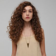love this necklace from Garnett Jewelry  $45 (and this girl is beautiful)