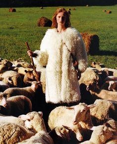 Rianne Van Rompaey by Alasdair McLellan for Vogue US October 2016