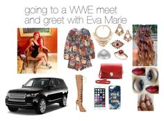 A fashion look from February 2015 featuring summer rompers, knee-high boots and leather hand bags. Browse and shop related looks. Wwe Outfits, Wwe Stuff, Eva Marie, Le Vian, Total Divas, Kardashian Kollection, Gothic Dress, Cambridge Satchel, Kate Spade