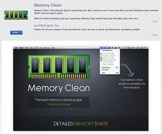 맥북프로, 메모리를 깔끔하게 정리해주는 memory clean(메모리클린) :: Photo and Story