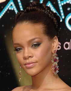Rihanna braid hairstyle