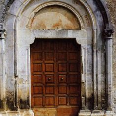San Vincenzo, Isernia, Italy Italian Doors, Arched Doors, Southern Italy, Sardinia, Sicily, Italy Travel, Tall Cabinet Storage, Travelling, Around The Worlds