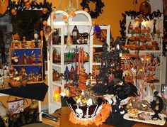 Good lord, as much as I do not love Halloween, I love decorating for Halloween.